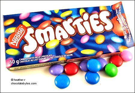 Canadian Smarties = so much better than UK smarties.