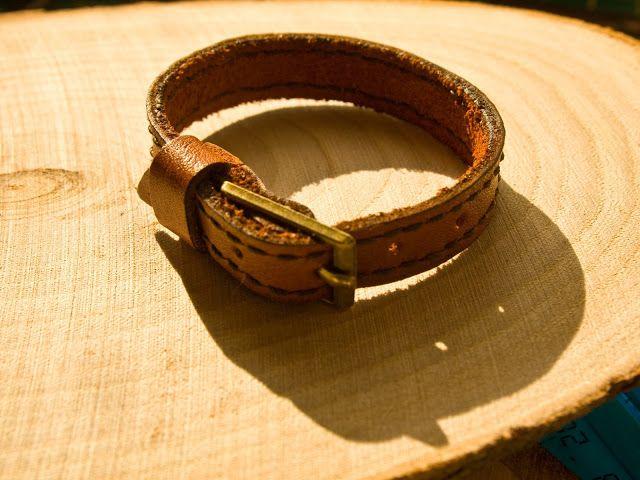 Ошейник для игрушки  Натуральная кожа  Ручная прошивка  Латунная пряжка  Mini Leather Goods