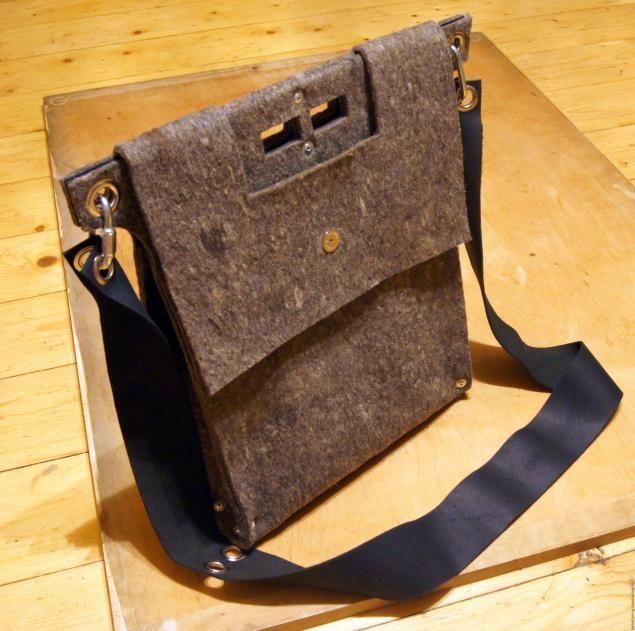 Изготовление сумки из войлока - Ярмарка Мастеров - ручная работа, handmade