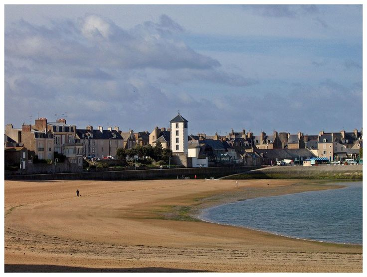 Plage des Bas-Sablons - Saint-Servan, Bretagne