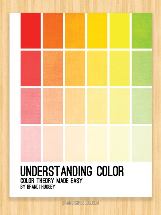 39 Best Images About Understanding Color On Pinterest