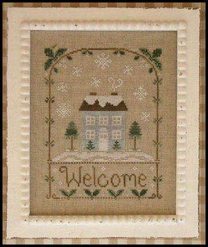 Winter Welcome - Cross Stitch Pattern