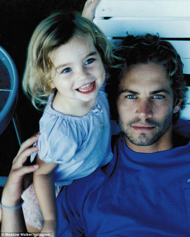 'I am tremendously proud!' Paul walker's daughter Meadow has launched a charitable foundation in his honour, tweeting this vintage shot of her and her dad on Saturday