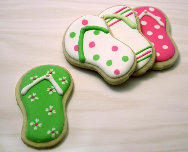 Best 25 Flip flop cakes ideas on Pinterest Flip flop cookie
