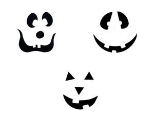 Jack O Lantern Face Assortment 3 Pack - 96 COE