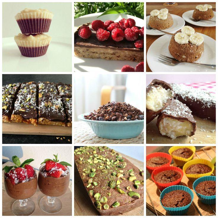 Een overzicht met 15 heerlijke eet clean chocolade recepten om zelf eenvoudig te maken.
