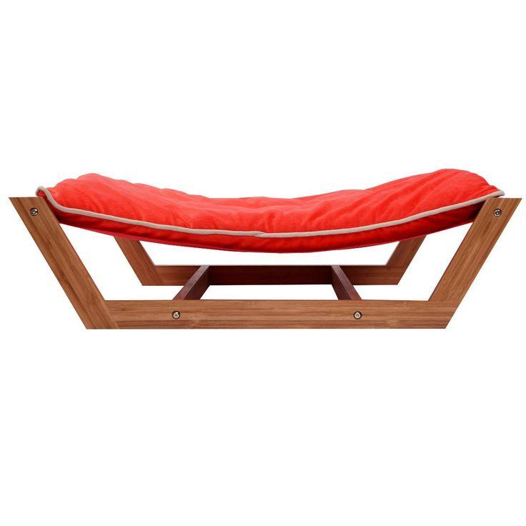 Giantex Rectangle Pet Hammock Bed Dog Nap Mat Sleeping Pad Cushion Bamboo Lounge * Want additional info? Click on the image.
