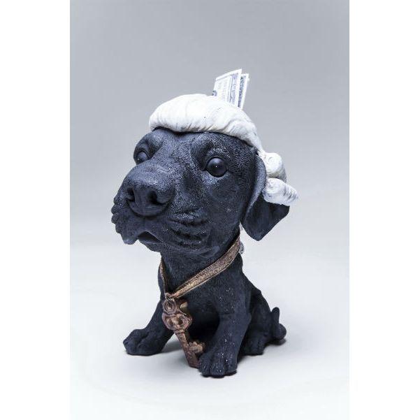 Κουμπαράς Lord Dog Ένας μικρός λόρδος, ο λόρδος των σκύλων, ένας κουμπαράς και συγχρόνως ένα χαριτωμένο διακοσμητικό στο χώρο σας . Υλικό: polyresin .