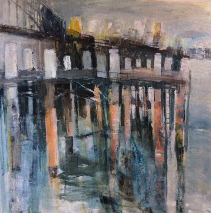 Under the Boardwalk – Oil on Board PLATFORMstore