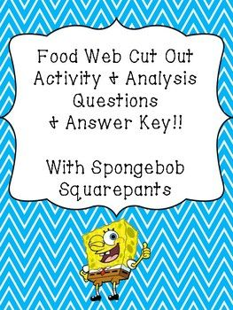 Looking for an excellent resource to supplement your unit of work?! We have created this unique and engaging activity where your students will be given a story as a stimulus based around the feeding relationships found within the marine ecosystem in Spongebob