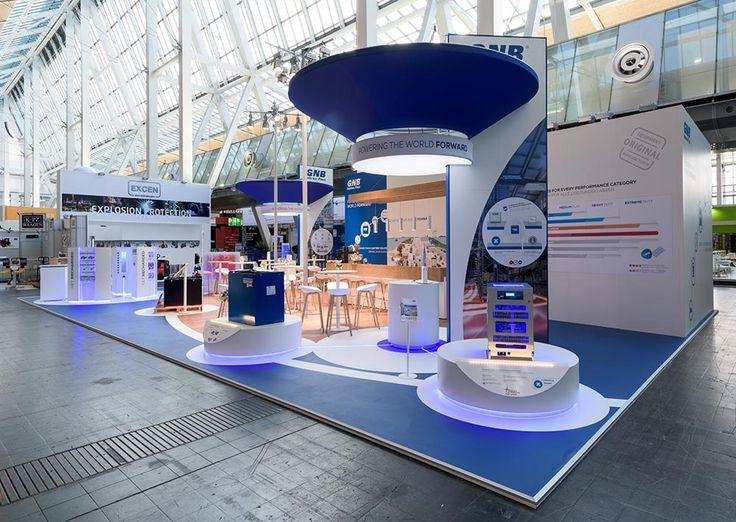 Exhibition Stand Circle : Exide cemat go exhibitions pinterest