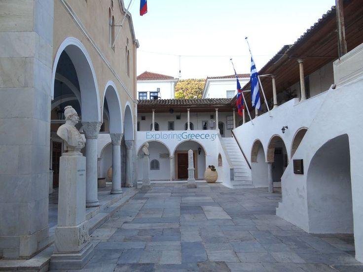 ΙΜ Κοιμήσεως της Θεοτόκου/Ύδρα Monastery of the Assumption of the Virgin Mary/Ydra