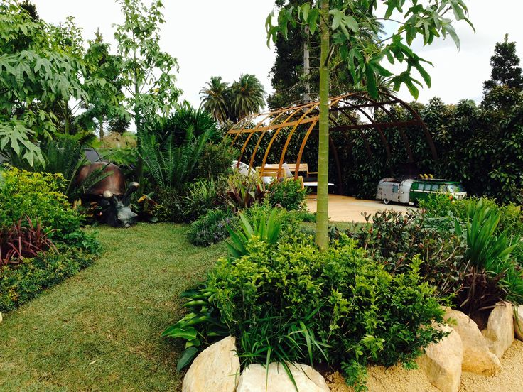 Australian Garden Show Sydney: 4 September 2014. Brent Reid's 'Cache'