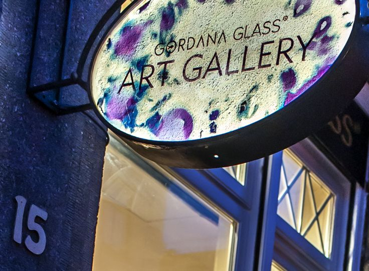 #gordanaglass #art #glassart #prague