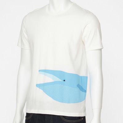 オーガニックコットンプリントTシャツ ネット限定 (大人サイズ) 紳士XS・アジアゾウ | 無印良品ネットストア