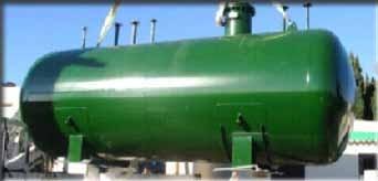 Serbatoio interrato stoccaggio | Serbatoi GPL grandi capacità | Plinoxotar Srl