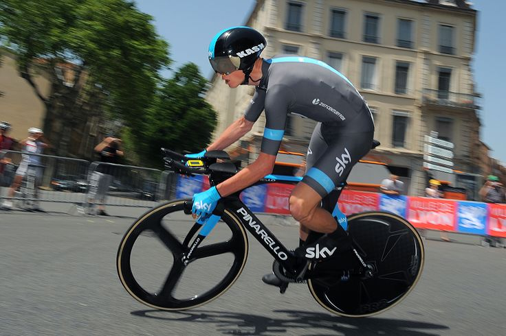Gallery: 2014 Criterium du Dauphine, stage 1 - Chris Froome en route to winning the opening time trial. Photo: Tim De Waele | TDWsport.com