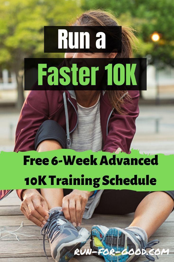 6 Week Advanced 10k Training Schedule This 6 Week Advanced 10k Training Schedule Is Des In 2020 10k Training Schedule Training Schedule Training For A 10k