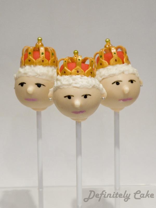 Queen Cake Pops by Definitely Cake