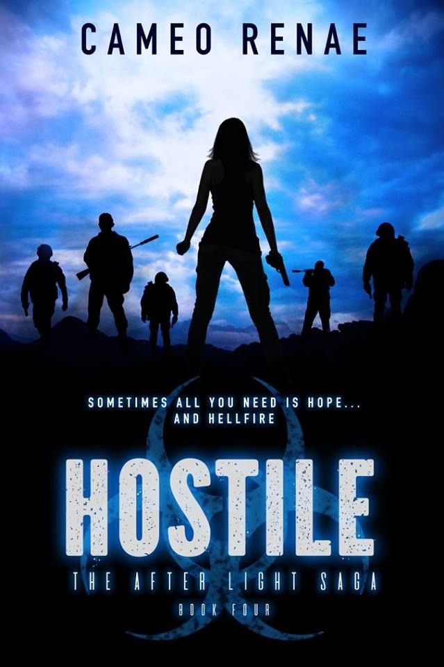 Hostile: New Covers for The After Light Saga by Cameo Renae