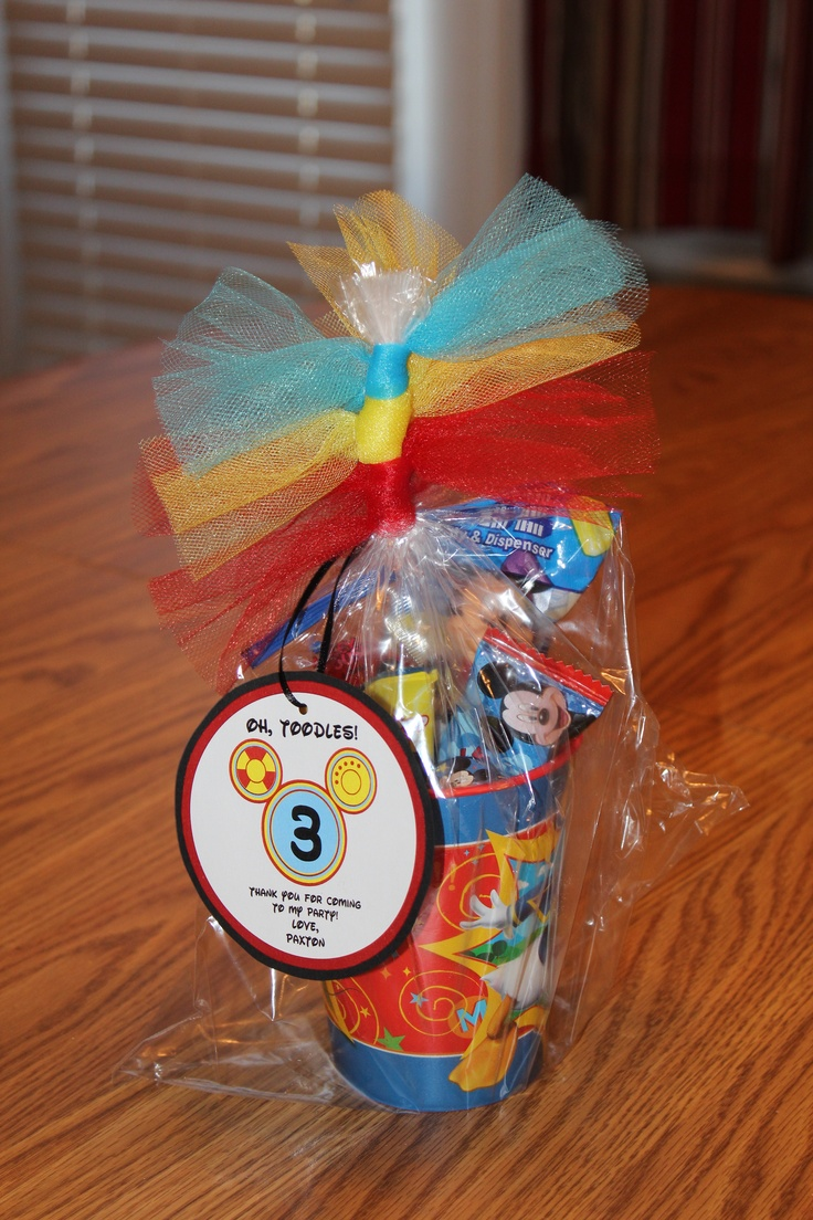 Mickey Mouse Clubhouse Party Favor