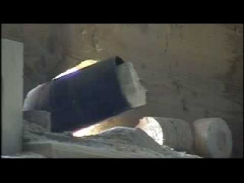 Recycling Wood - making Briquettes Scott & Sargeant Machines - YouTube