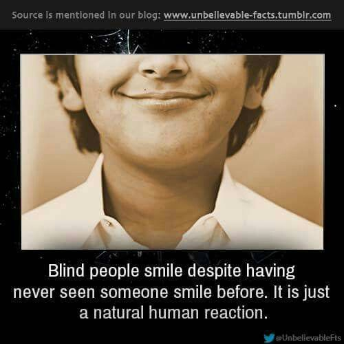 Respect for the blind ,their awesome people