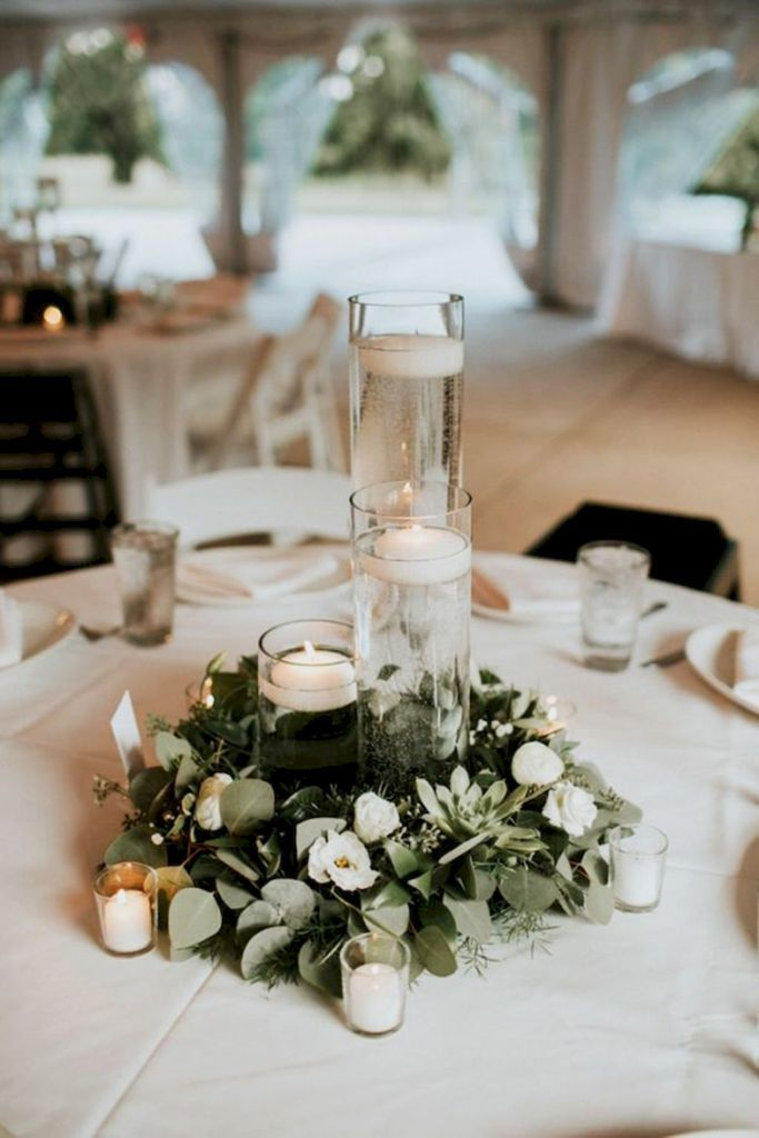 20 Simple Greenery Wedding Centerpieces Decor Ideas Wedding Ideas