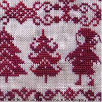 Perrette Samouiloff - Red Christmas Sampler (cross stitch)