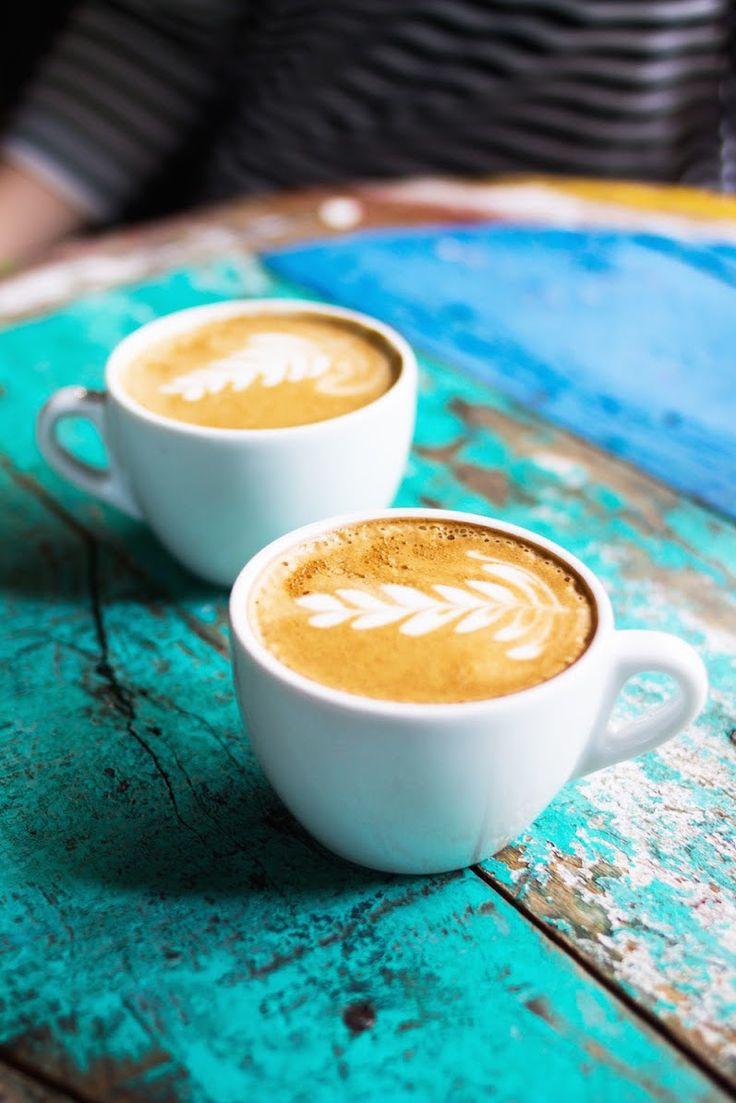 Coffee in Paris.