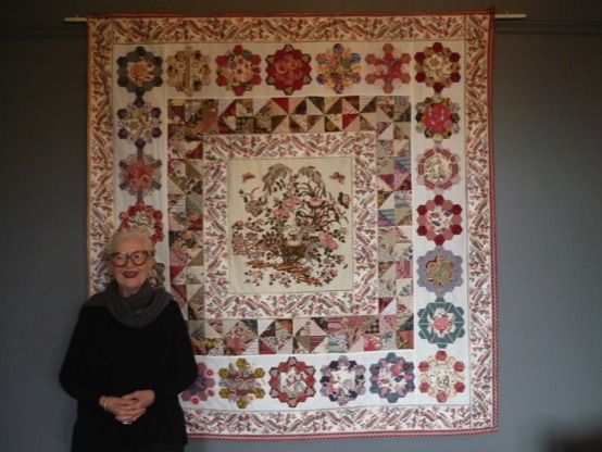 hexagon quilt patterns designs - Google Search quit by Susy Miller