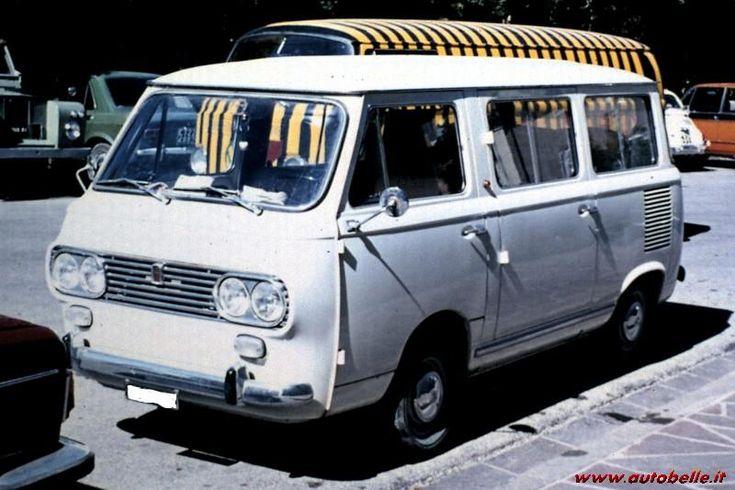 PULMINO FIAT 850 QUATTRO FARI - ANNO 1979