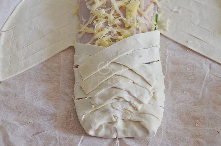 strudel di zucchine proc2