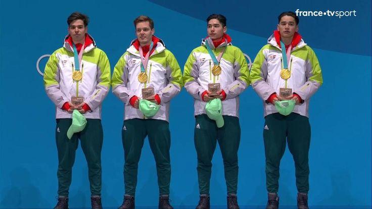 VIDEO. JEUX OLYMPIQUES PYEONGCHANG 2018 / SHORT TRACK / RELAIS 5000 METRES HOMMES. L'or pour la Hongrie, l'argent pour la Chine et le bronze pour le Canada dans ce relais 5000 mètres des…