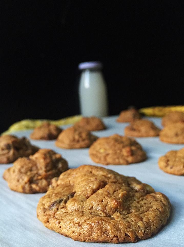 Flourless Elvis Cookies {Vegan + GF!} | Whisk and Shout