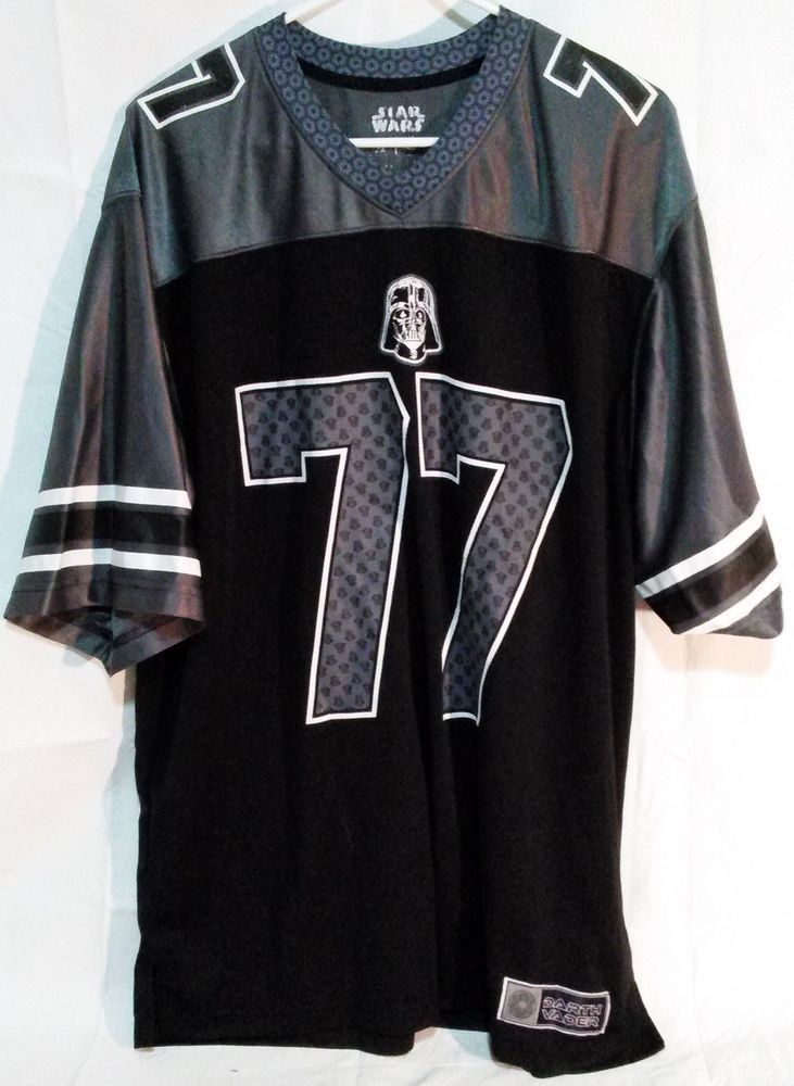 a8600822f Darth Vader Jersey Shirt Size XXL Great Condition  77 STAR WARS ...