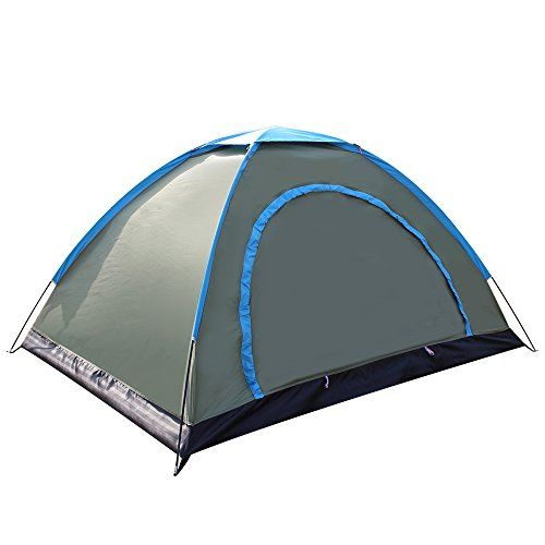 Techcell 2 Person Tent Camping Instant Tent Waterproof Tent Backpacking Tents for Camping Hiking Traveling(A). For product info go to:  https://all4hiking.com/products/techcell-2-person-tent-camping-instant-tent-waterproof-tent-backpacking-tents-for-campi