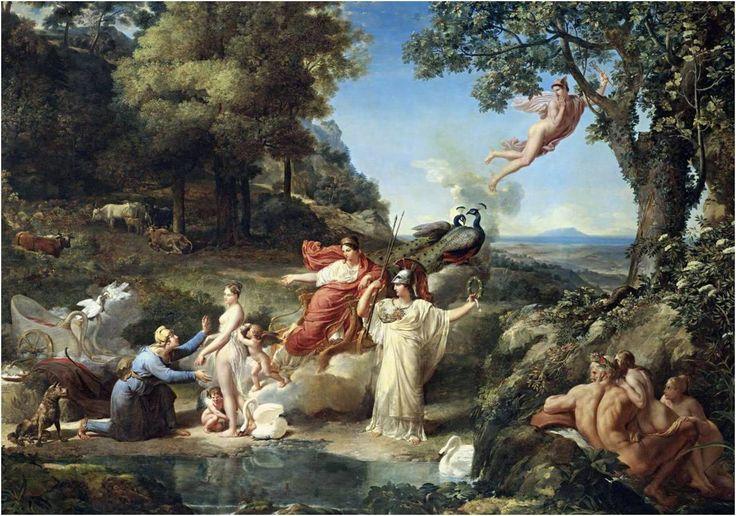 Paridův soud (Judgement of Paris) - Guillaume Guillon Lethiére
