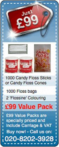 '£99 CANDY FLOSS SPECIAL'