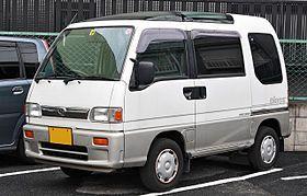 Subaru Sambar Fifth generation (1990–1998)