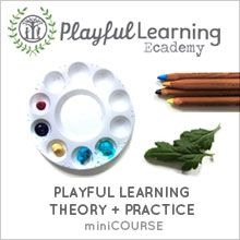 playful learning theory and practice webinar $15