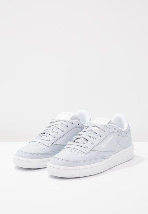 a1ca6eb9ce3 Reebok Classic CLUB C 85 FBT - Sneakers laag - cloud grey white silver -  Zalando.nl