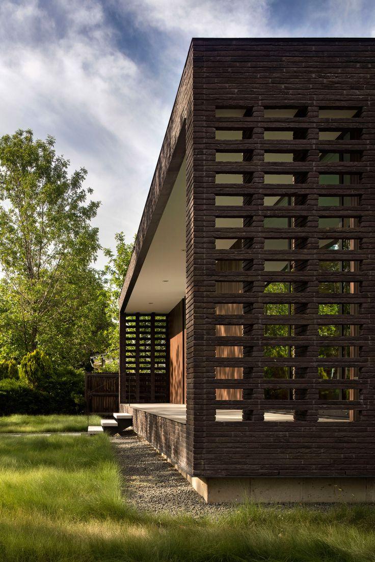 Studio B creates rectangular brick home for