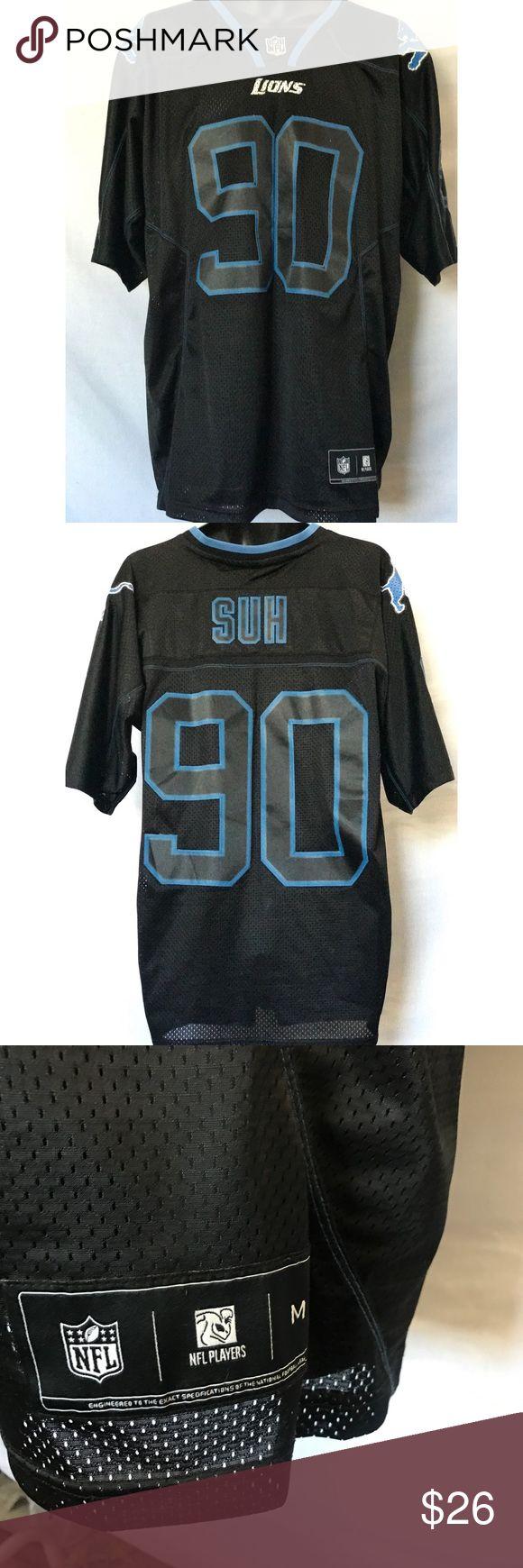 Detroit Lions Jersey Ndamukong Suh Jersey  Size medium   Great condition! Shirts