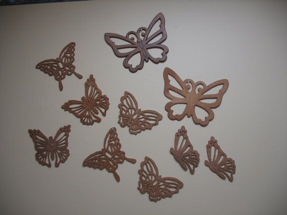 Scroll Saw Butterflies by StitchNsaw on Etsy, $10.00