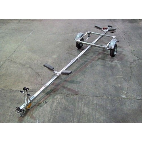 Trailex Aluminum Trailer, One Canoe Or Kayak Carrier, SUT-220-S                                                                                                                                                     More