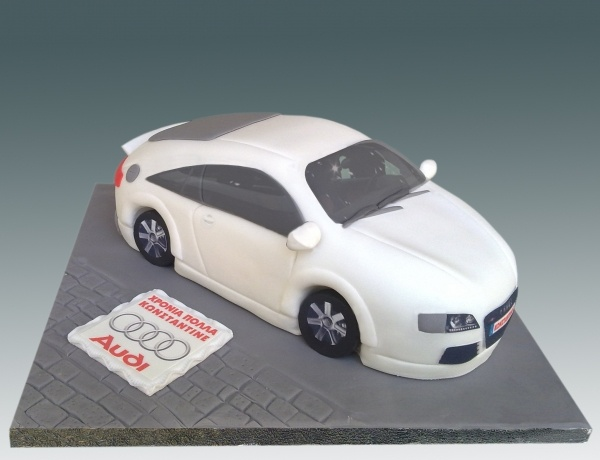 Audi Tt Cake Pasteles Pinterest Cakes Audi Tt And
