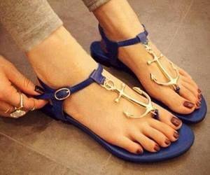 sandali con ancora