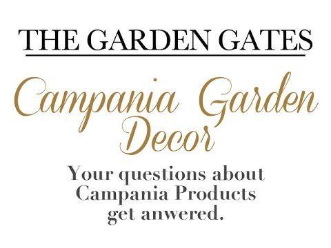 40 best campania international garden decor fountains for International decor gates
