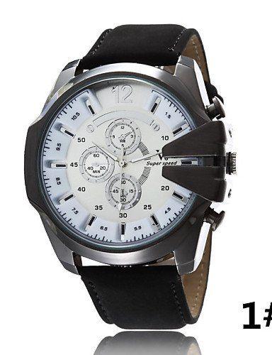 Männer Casual j Quarzuhr gefälschte drei große Zifferblatt Lederband Armbanduhr Sport-Serie , 9# - http://uhr.haus/yyf/maenner-casual-j-quarzuhr-gefaelschte-drei-sport-2